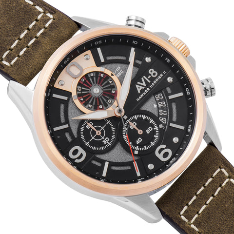 AVI-8 Men's Hawker Harrier II AV-4051-01 Quartz Watch