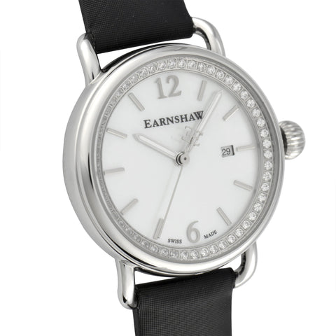 Thomas Earnshaw THOMAS EARNSHAW SWISS MADE Investigator Quartz Watch With Black Satin Strap ES-0022-05