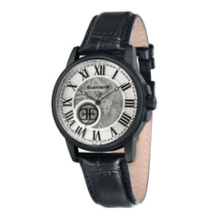 Thomas Earnshaw THOMAS EARNSHAW SWISS MADE Beagle Automatic Skeleton With Black Genuine Leather Strap ES-0028-03