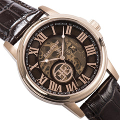 Thomas Earnshaw THOMAS EARNSHAW SWISS MADE Beagle Automatic Skeleton With Brown Genuine Leather Strap ES-0028-04