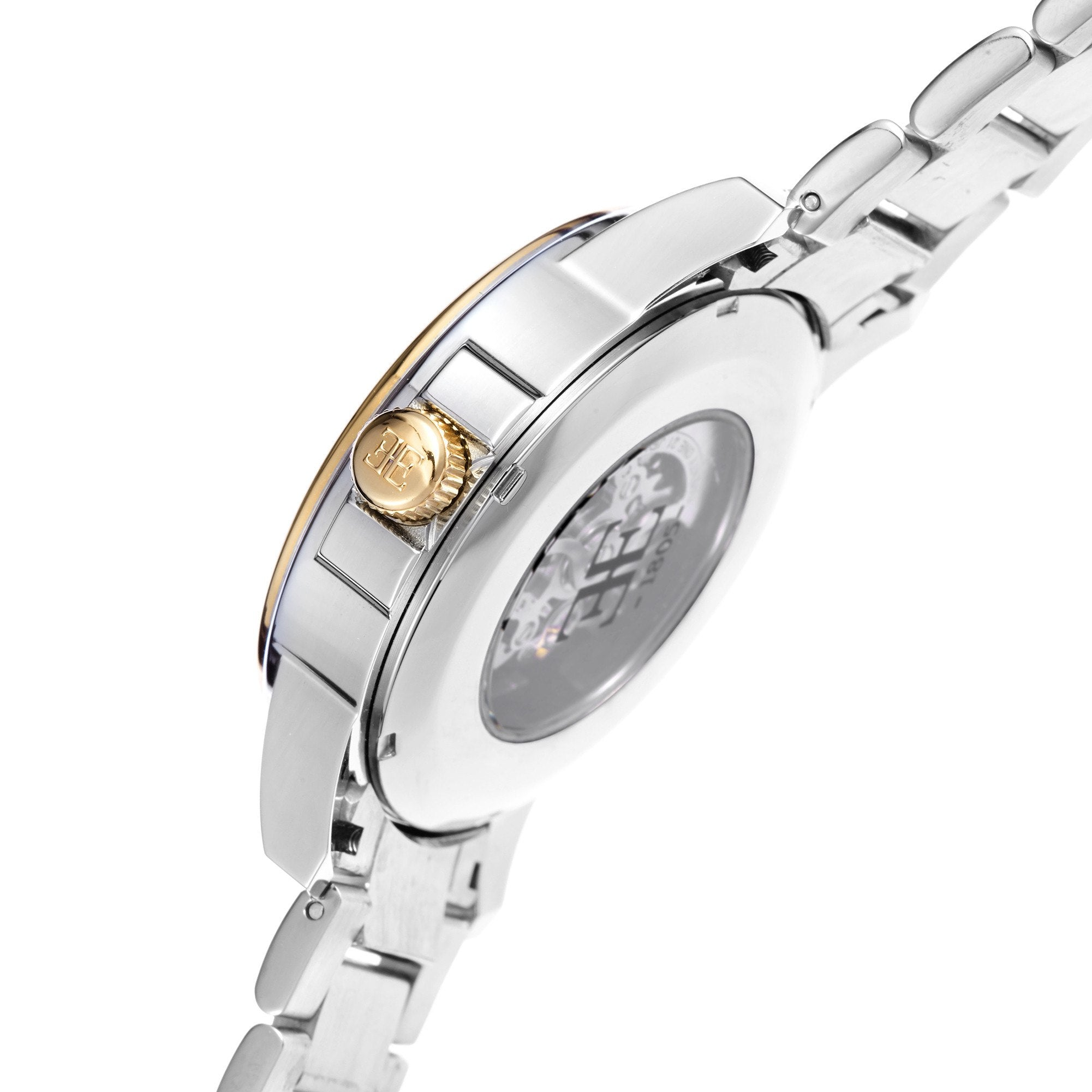 Thomas Earnshaw THOMAS EARNSHAW SWISS MADE Beagle Automatic Skeleton Watch With Solid Stainless Steel Bracelet ES-0029-22