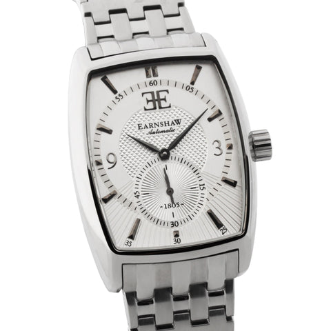 Thomas Earnshaw Men's ES-8009-22 Robinson Stainless Steel Watch with Bracelet