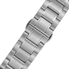 James Mccabe Men's JM-1020-11 Belfast Stainless Steel Automatic Watch with Solid Stainless Steel Band
