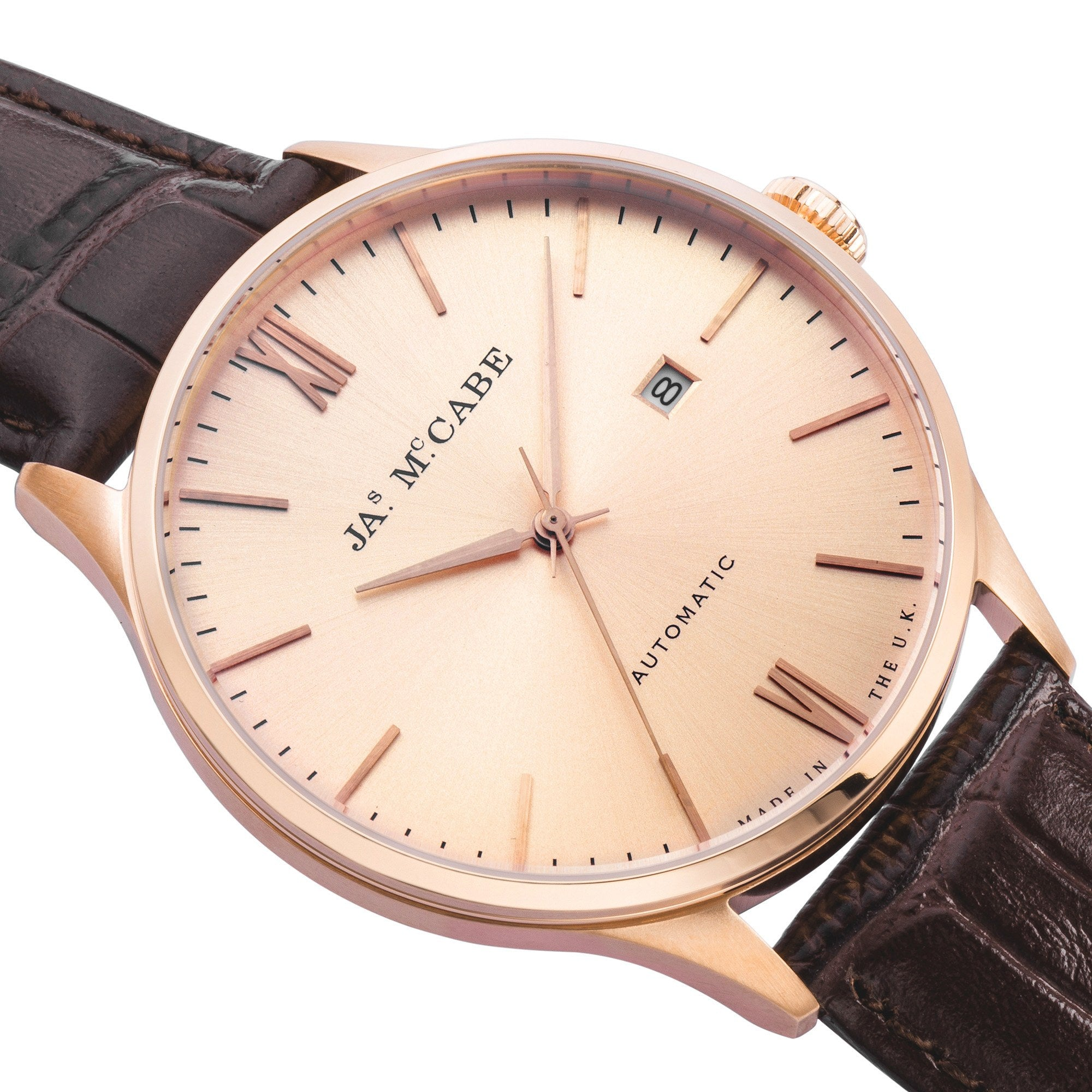 James McCabe JM-1025-06 Heritage Automatic Watch