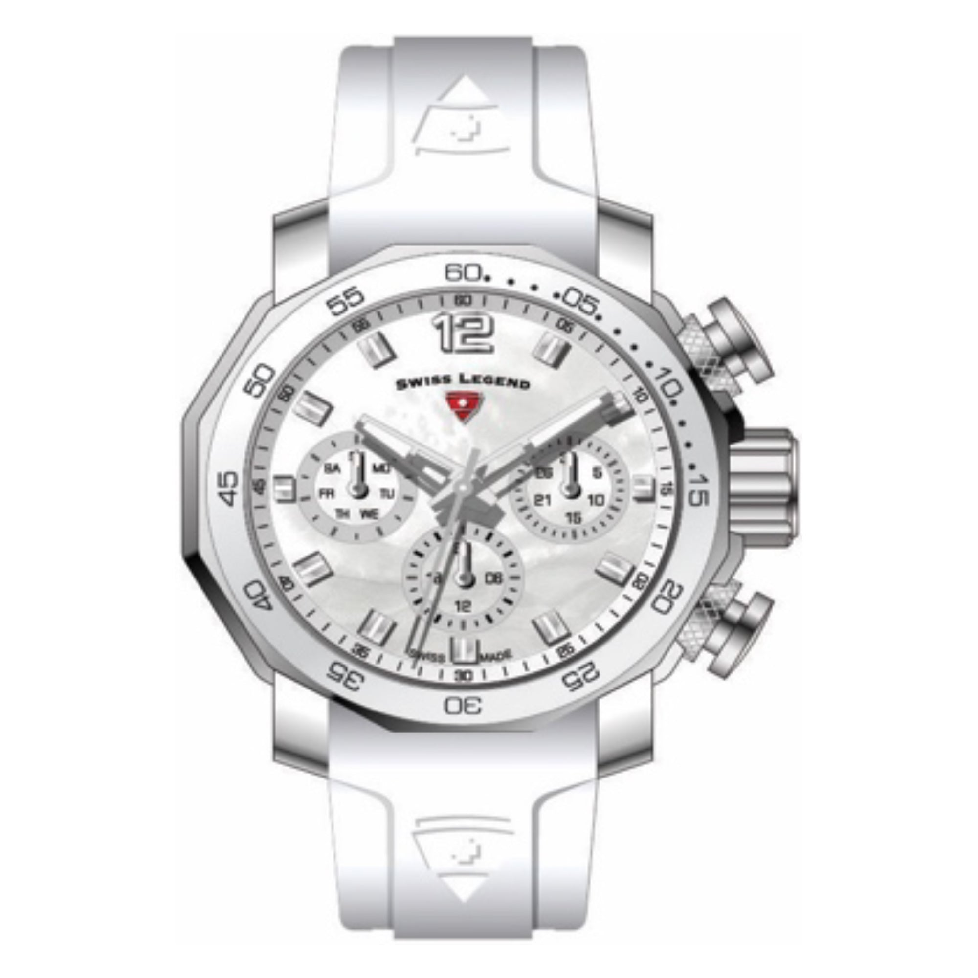 Swiss Legend SL-16192SM-02-WHT