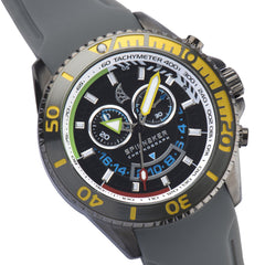 Spinnaker SPINNAKER Mens AMALFI Quartz Chronograph Big Date with Stainless Steel Bracelet SP-5021-02