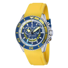 Spinnaker SPINNAKER Mens AMALFI Quartz Chronograph Big Date with Stainless Steel Bracelet SP-5021-08