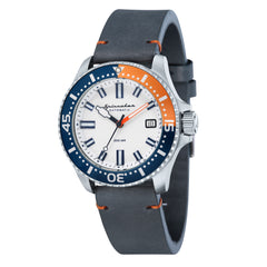 Spinnaker SPINNAKER Mens SPENCE Automatic Watch with Genuine leather Strap and Nylon Nato Strap SP-5039-02