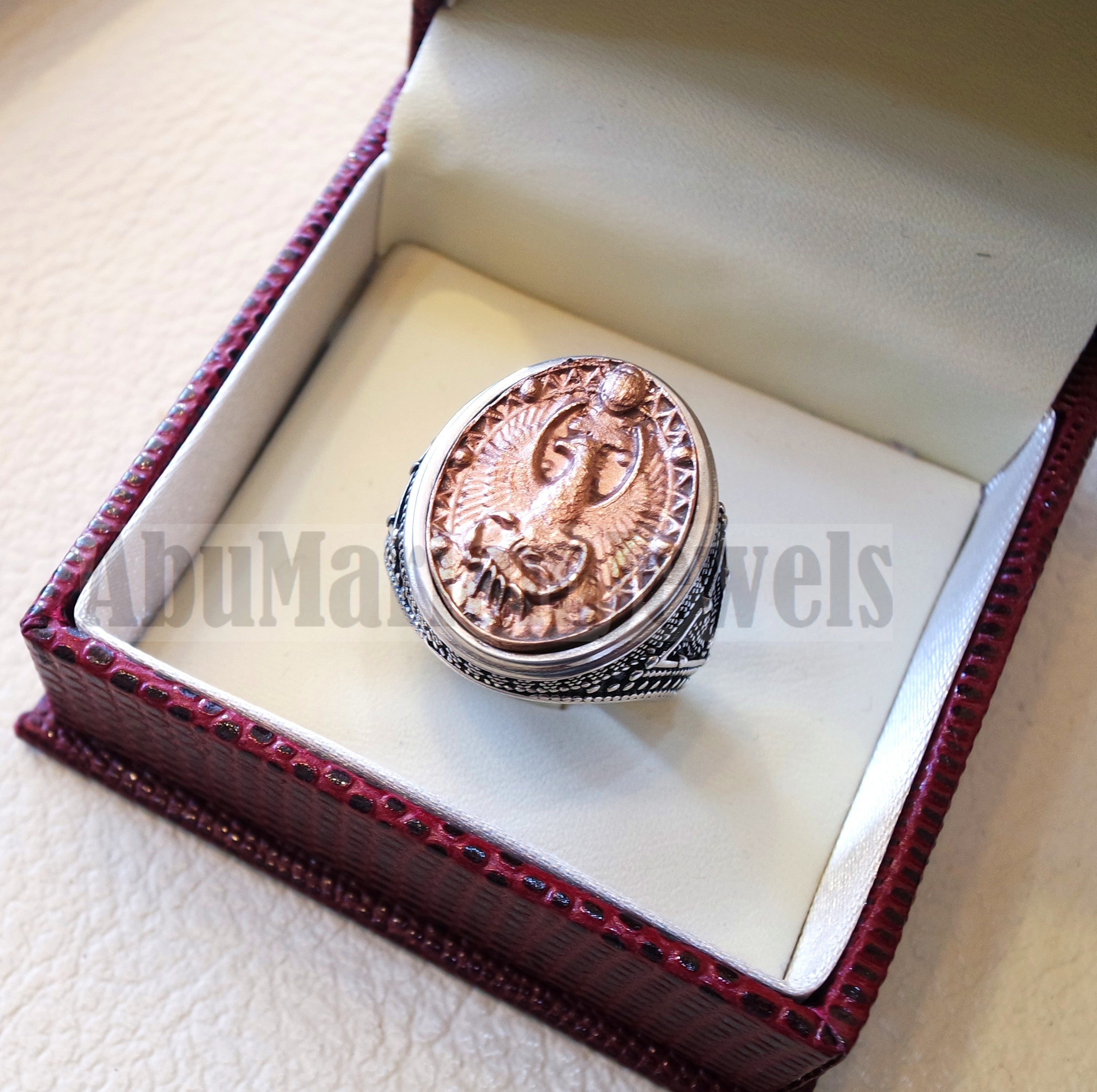 Horoscopes zodiac sign Scorpio sterling silver 925 and antique bronze huge men ring all sizes men jewelry gift that bring luck fast shipping