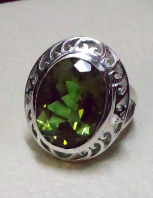 Zultanite oval natural changing color rare gem in sterling silver 925 Diaspore women ring cut stone all sizes