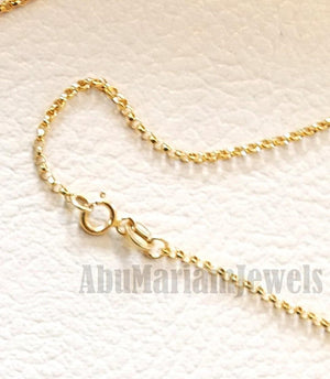 personalized customized 1 name 18 k gold arabic calligraphy pendant with chain standard , pear , rectangular or any shape fine jewelry N1005
