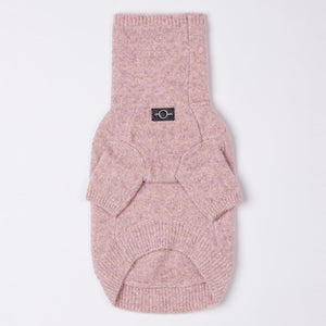Rullekrave sweater (pink)