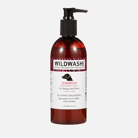 Hundeshampoo WildWash - Beauty & Shine Ylang-Ylang 300ml
