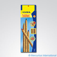 Lyra Colour Giant Pencils Unlacquered