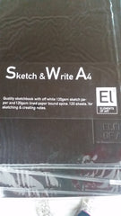 Sketch & Write Elements of Art Soft Covered
