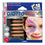 Lyra Giotto Skin and Make Up Face Paint Pencils - Set of 6