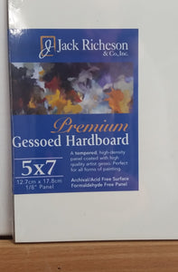 Painting Panel Gesso Premium Hardboard Jack Richeson USA - St Kilda Art Supplies and Canvas Stretching - Prahran