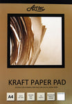 Recycled Brown Kraft Paper Pads - St Kilda Art Supplies and Canvas Stretching - Prahran