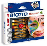 Lyra Giotto Skin and Face Paint Pencils - Set of 6 - St Kilda Art Supplies and Canvas Stretching - Prahran