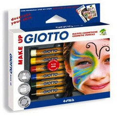 Lyra Giotto Skin and Face Paint Pencils - Set of 6