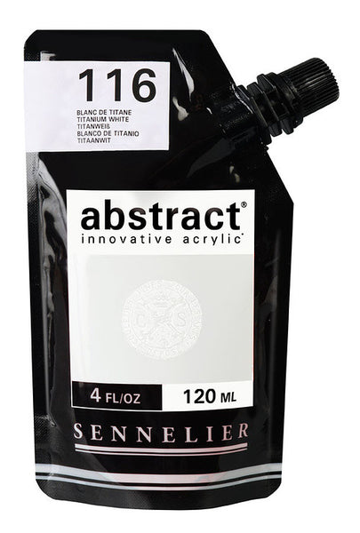 Sennelier Abstract Innovative Acrylic 120ml 60 Colours - St Kilda Art Supplies and Canvas Stretching - Prahran