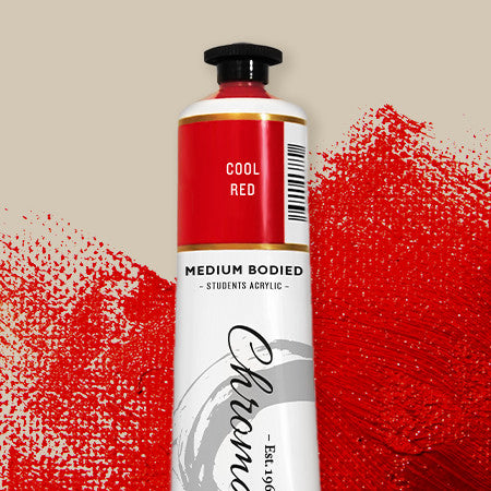 Chromacryl Student Acrylic 75ml - St Kilda Art Supplies and Canvas Stretching - Prahran