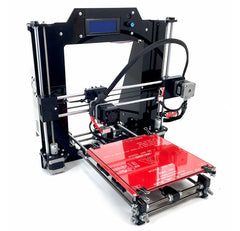 RepRap Guru DIY RepRap Prusa I3 3D Printer Kit V2 Black with LCD