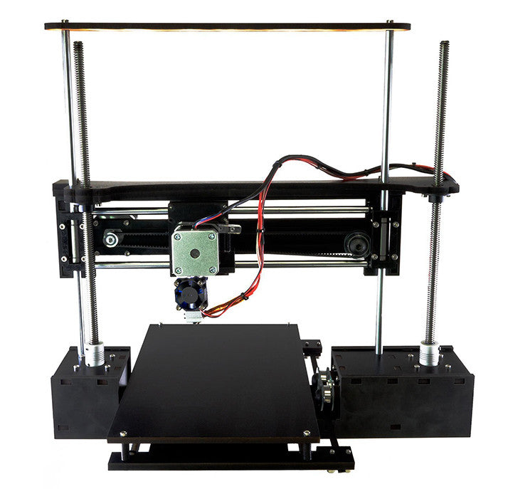 Q3D Three-Up V3 Complete DIY 3D Printer Kit (heated bed optional)