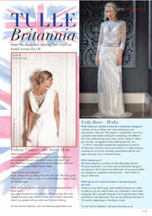 Vicky Rowe Featured in County Wedding Magazine