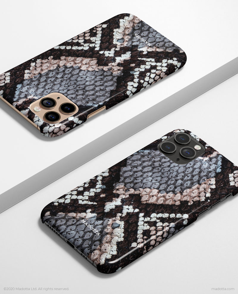 Python Snakeskin Texture iPhone Case