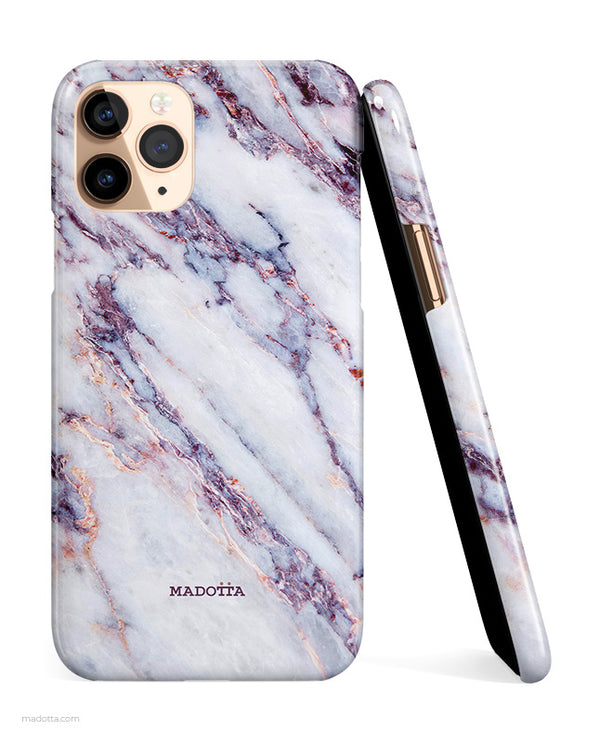 Blue Waterfall Marble iPhone Case hide