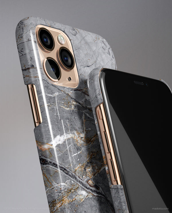 Silver Lake Marble iPhone Case