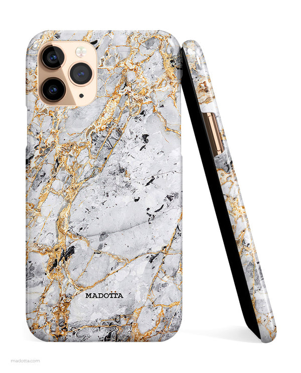 Golden Dragon Marble iPhone Case hide