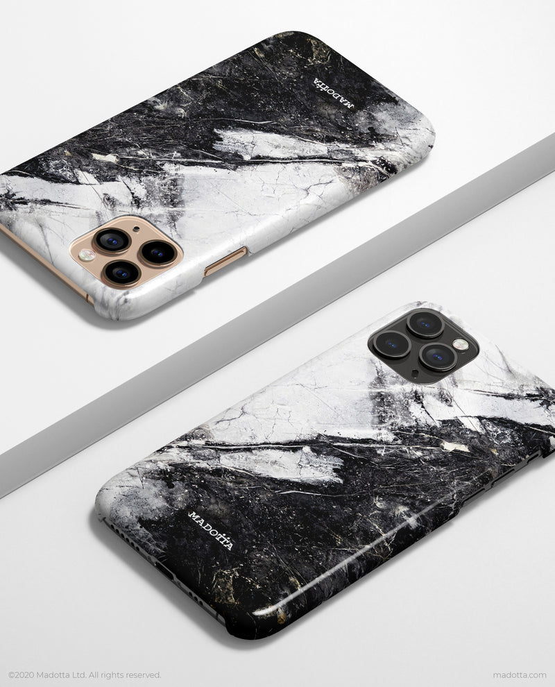 Day Night Marble iPhone Case