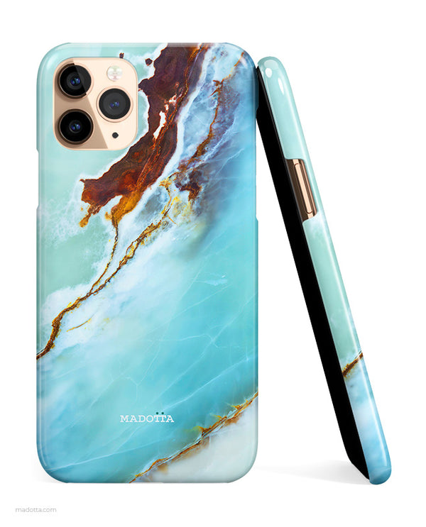 Blue Ocean Marble iPhone Case hide