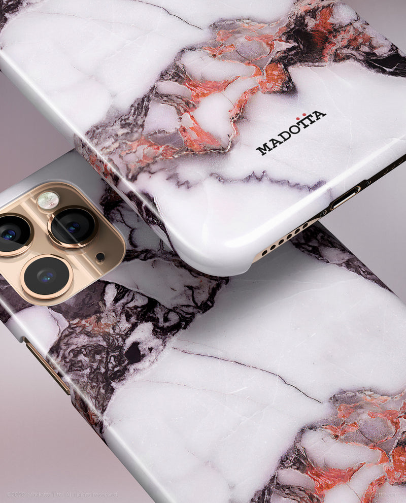 Velvet Marble iPhone Case