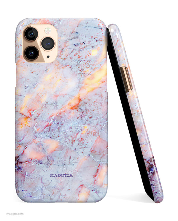Cotton Candy Marble iPhone Case hide