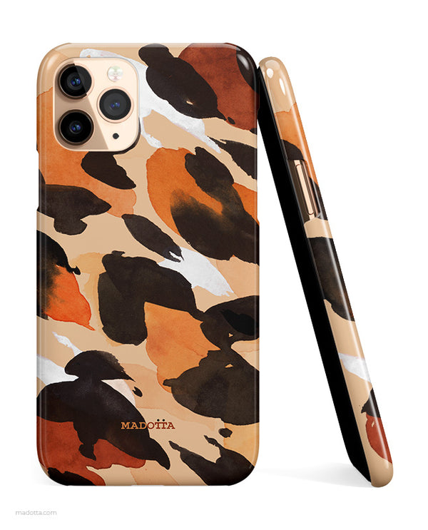Leopard Print Pattern iPhone Case hide