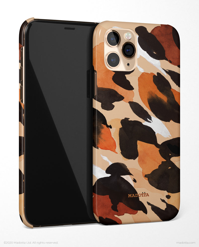 Leopard Print Pattern iPhone Case