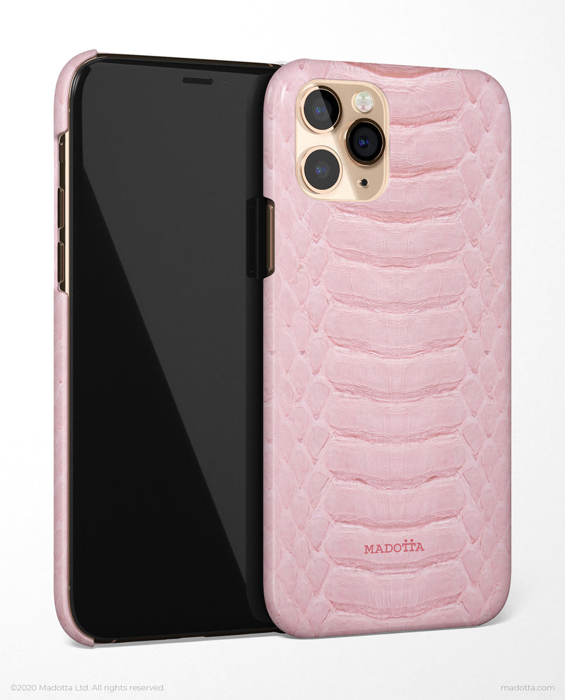 Pink Snakeskin Print iPhone Case