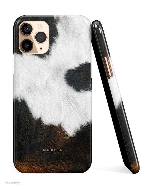 Cowhide Print iPhone Case hide