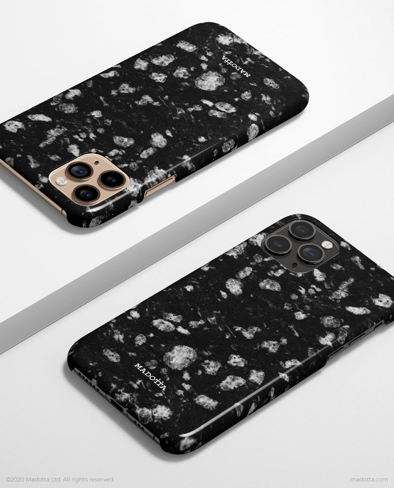 Black Stone iPhone Case