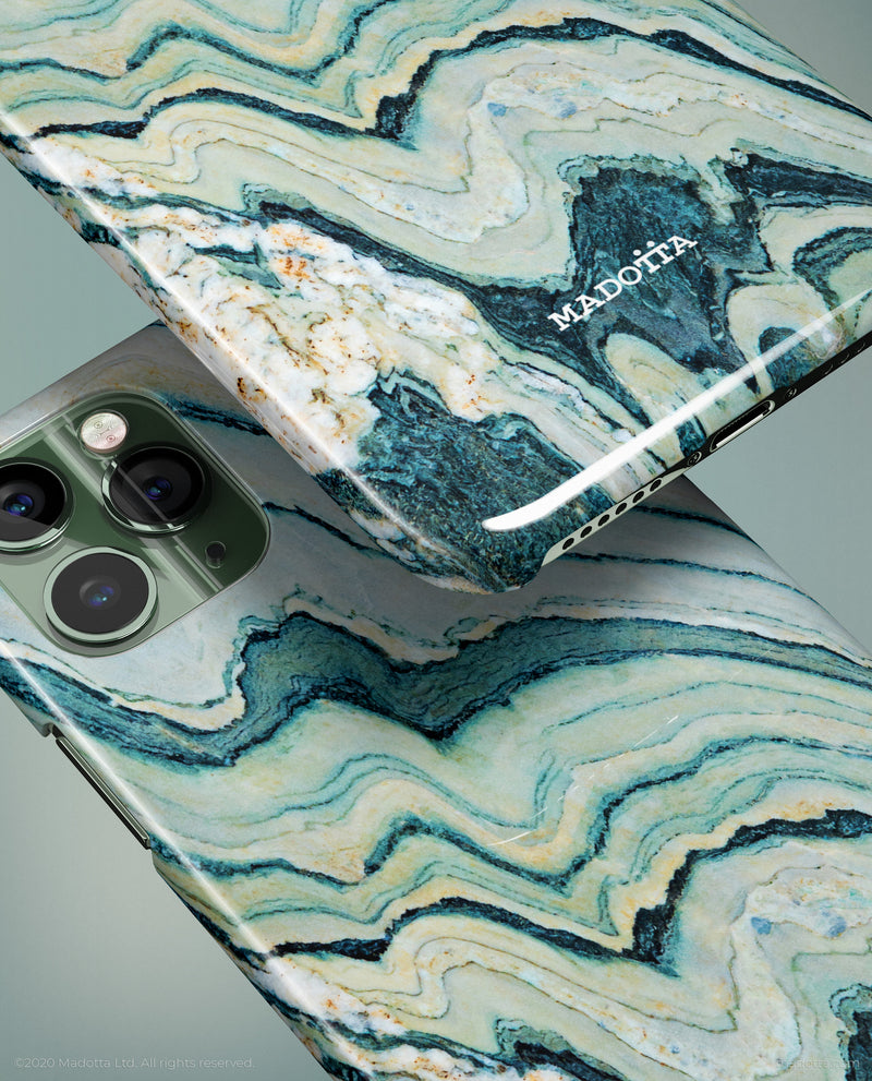Green Marble iPhone Case