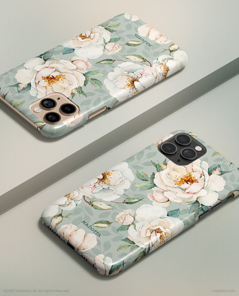 Garden Roses iPhone Case