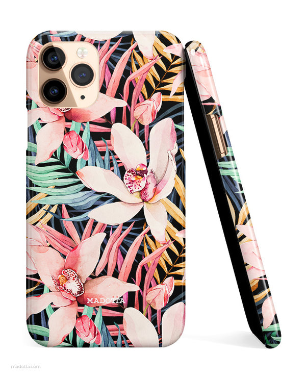 Tropical Nights iPhone Case hide