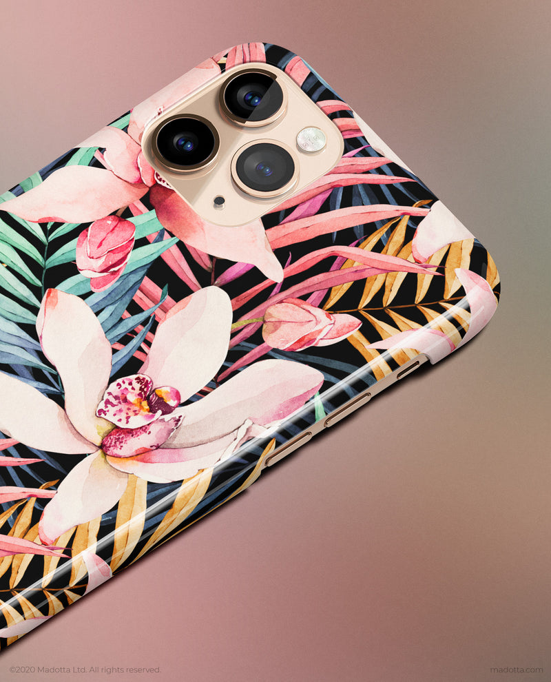 Tropical Nights iPhone Case