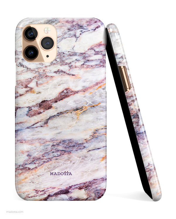 Purple Reign Marble iPhone Case hide