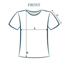 how to measure front of garment