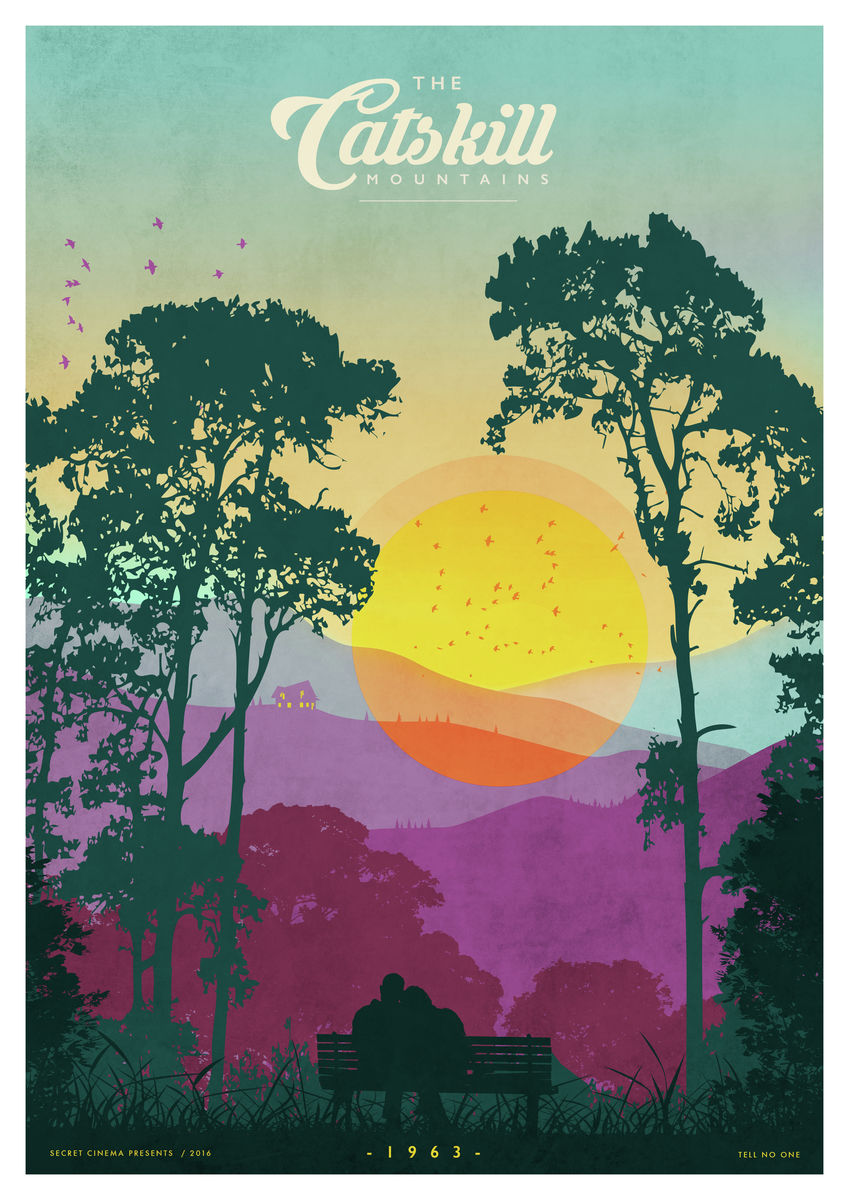 The Catskills (Purple) - Giclée Print
