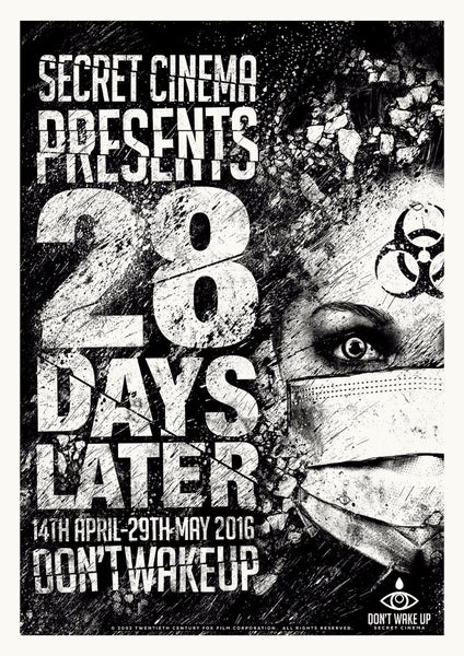 White 28 Days Later Print- April 2016